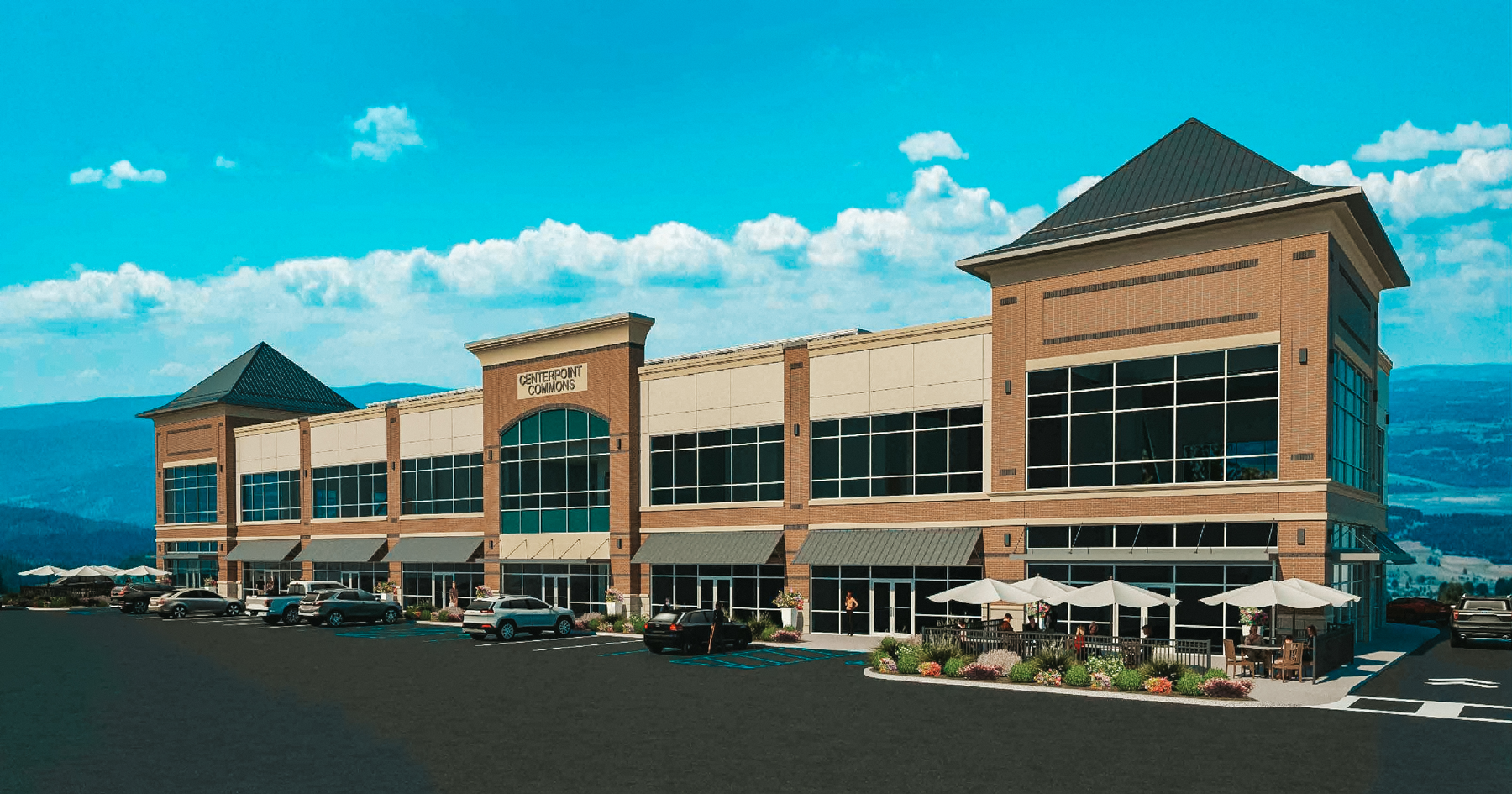 CenterPoint Commons Retail/Office Rendering