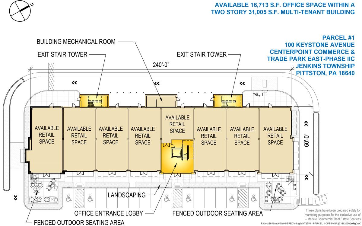 100 Keystone Avenue (P1), CenterPoint Commerce & Trade Park East, Jenkins Township, PA