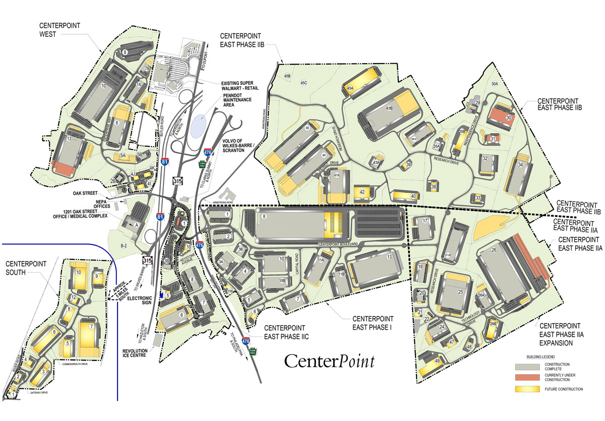 CenterPoint Map Overall
